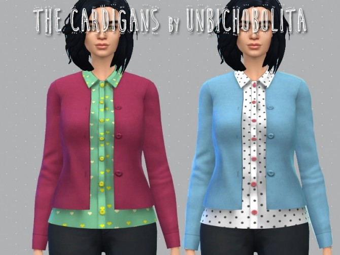 Sims 4 Cardigans at Un bichobolita
