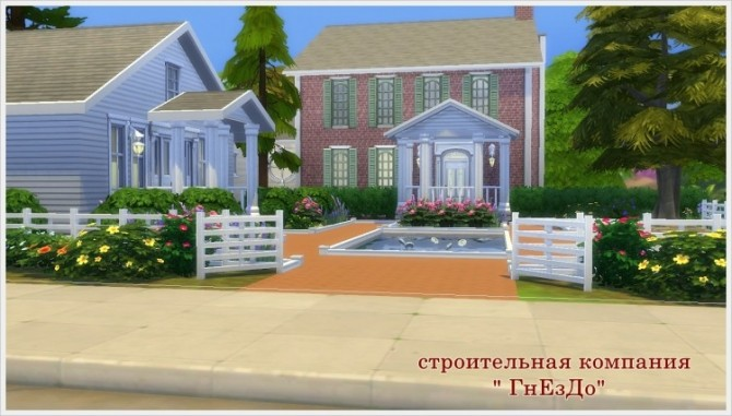 Sims 4 Milens Cottage at Sims by Mulena