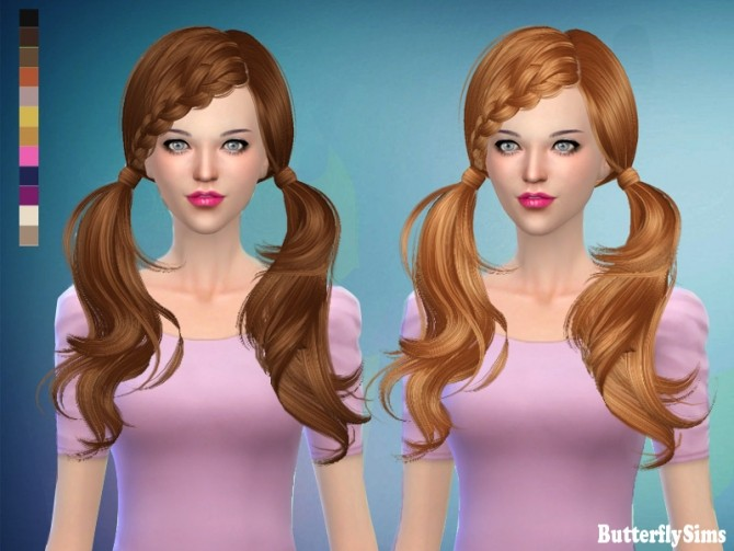 B Fly Sims B-fly hair 052 AF No h...