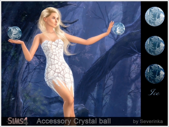 Crystall Ball At Sims By Severinka 187 Sims 4 Updates