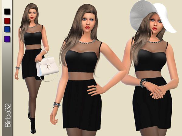 Matilde dress by Birba32 at TSR image 1710 Sims 4 Updates