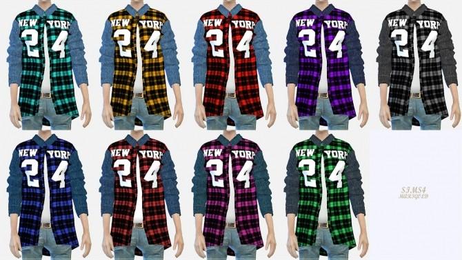 24 checked shirt at Marigold image 1722 670x377 Sims 4 Updates