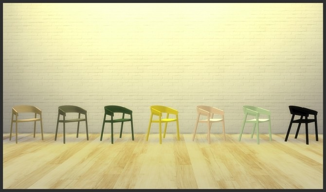 Cover chair (Pay) at Meinkatz Creations image 1735 670x395 Sims 4 Updates