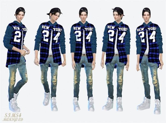 24 checked shirt at Marigold image 1742 670x497 Sims 4 Updates