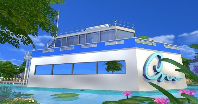 Yacht Calypso by Dolkin at ihelensims image 1863 670x353 Sims 4 Updates