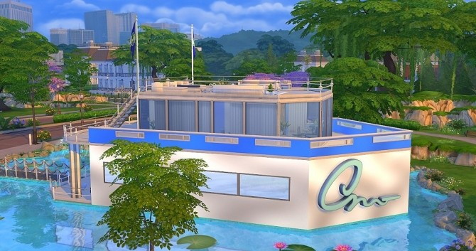 Yacht Calypso by Dolkin at ihelensims image 1873 670x353 Sims 4 Updates