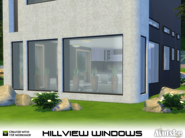 Hillview Windows With Slots By Mutske At Tsr 187 Sims 4 Updates