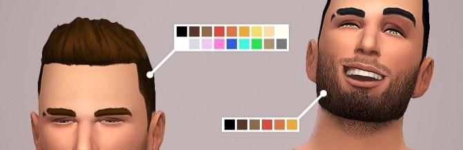 Short hair + stubble at LumiaLover Sims image 2021 670x218 Sims 4 Updates