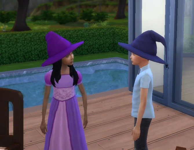 Witch Hat Conversion At My Stuff 187 Sims 4 Updates