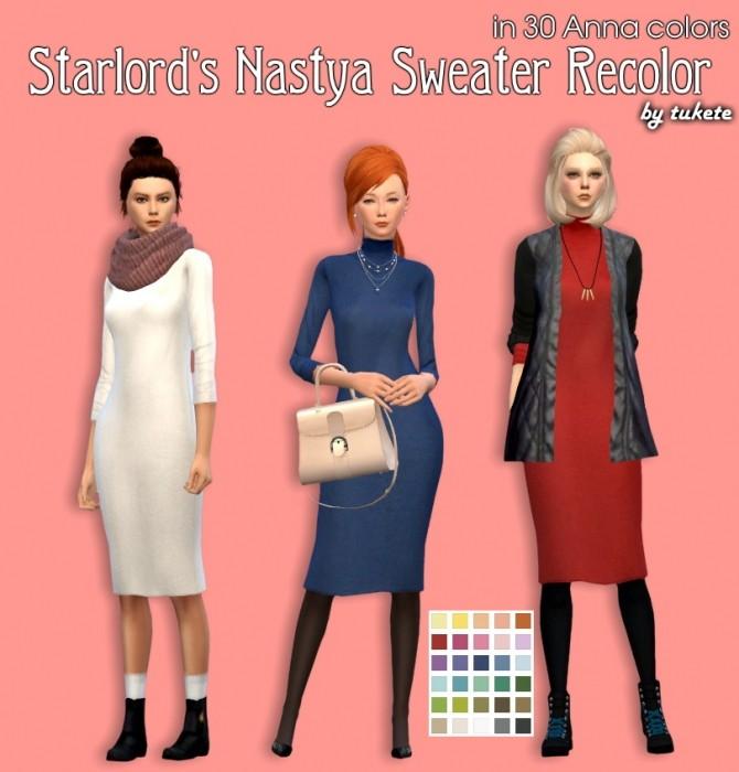 Sims 4 Starlord Nastya Sweater Recolors at Tukete