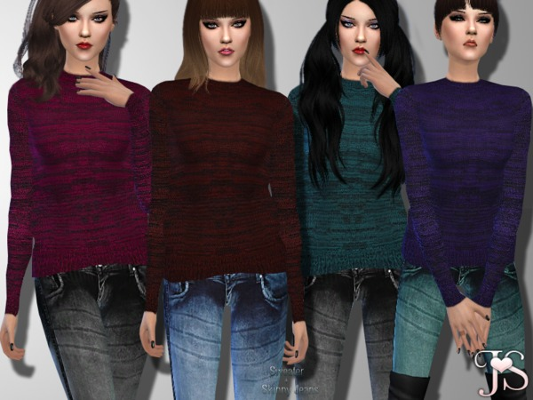 Sims 4 Best Dayz Outfit by JavaSims at TSR