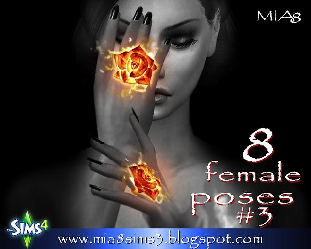 8 female poses#3 at MIA8 image 2042 Sims 4 Updates