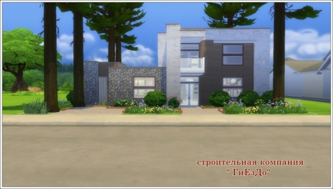 CUBIX house at Sims by Mulena image 207 670x380 Sims 4 Updates