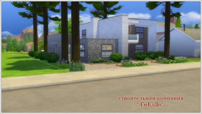 CUBIX house at Sims by Mulena image 208 670x380 Sims 4 Updates