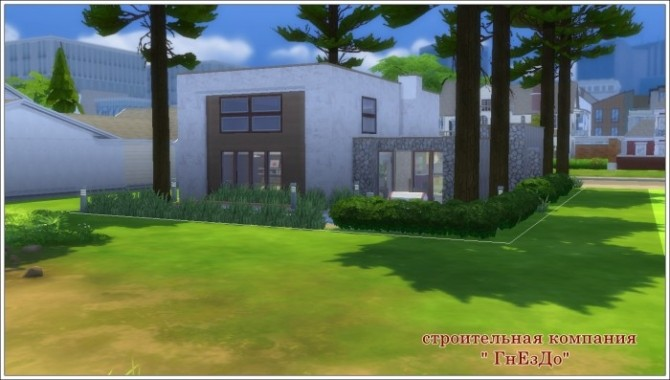 CUBIX house at Sims by Mulena image 209 670x380 Sims 4 Updates