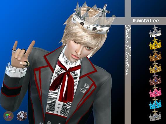 Medieval edge Cross crown at Studio K Creation image 2105 Sims 4 Updates