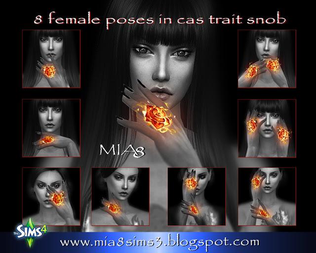 8 female poses#3 at MIA8 image 2113 Sims 4 Updates