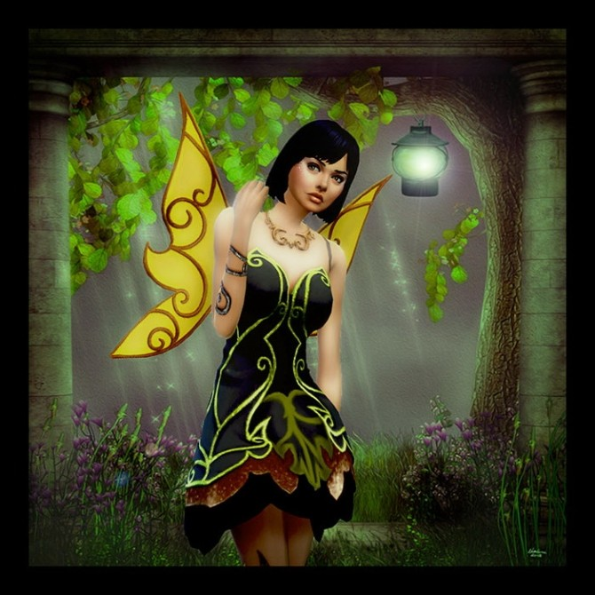 La Fée Gnante (The Lazy fairy) by Mich Utopia at Sims 4 Passions image 2158 670x670 Sims 4 Updates