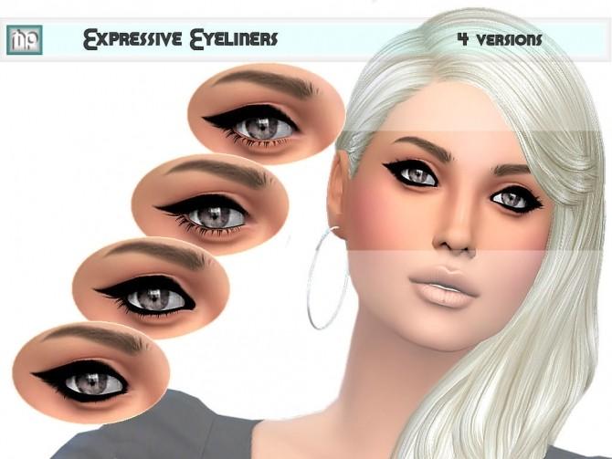 Sims 4 MP Expressive Eyeliner N2 at BTB Sims – MartyP