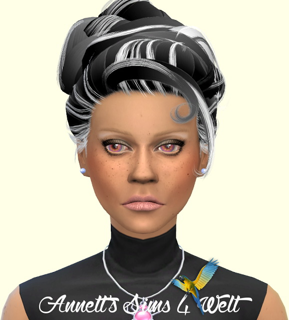 Sims 4 Stealthics Lovesick hair recolors at Annett's Sims 4 Welt