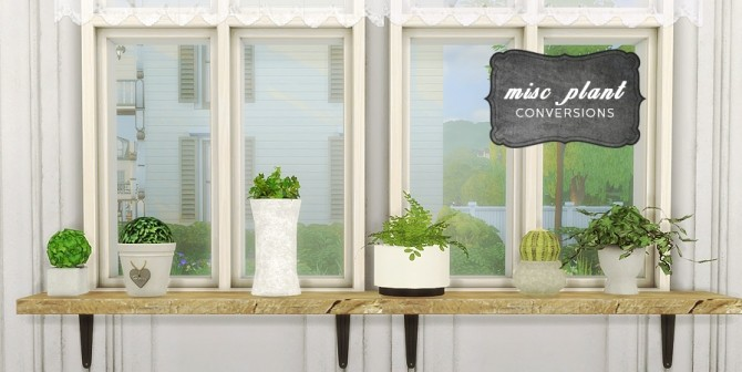 MISC PLANT CONVERSIONS at MIO image 2318 670x336 Sims 4 Updates