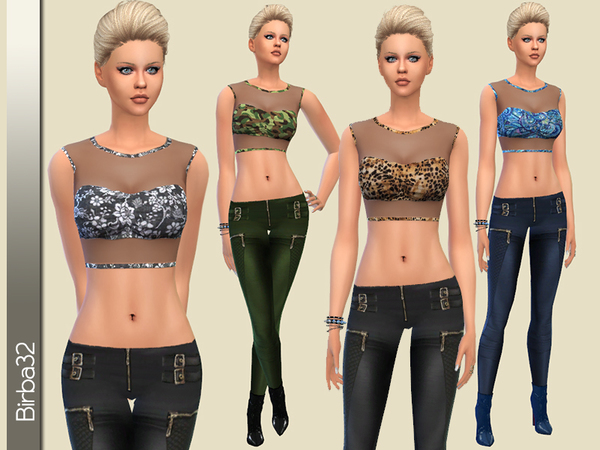 Leather Passion by Birba32 at TSR image 2324 Sims 4 Updates