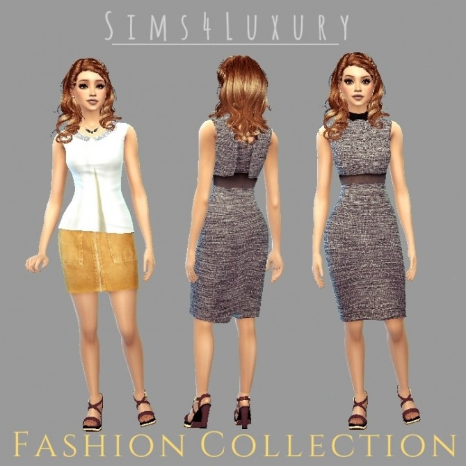 Fashion collection #1 at Sims4 Luxury image 2334 670x670 Sims 4 Updates