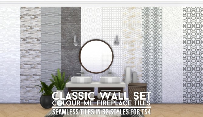 Sims 4 UPDATED Look At Me! Fireplace and Walls at Simsational Designs
