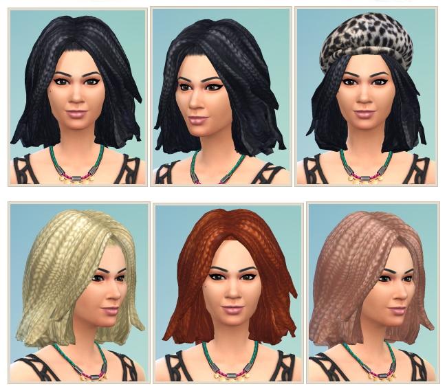 Sims 4 Women Dreads at Birksches Sims Blog