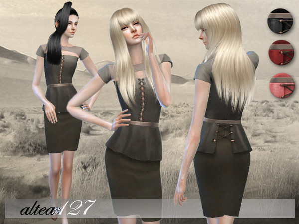 Jane Dress by altea127 at TSR image 2414 Sims 4 Updates