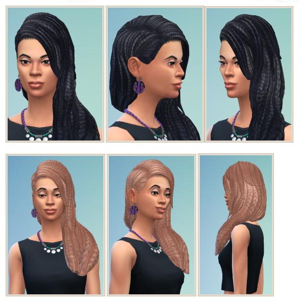 Sims 4 Dixie Dreads at Birksches Sims Blog
