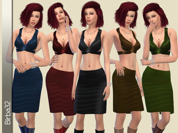 Leather Passion by Birba32 at TSR image 2424 Sims 4 Updates