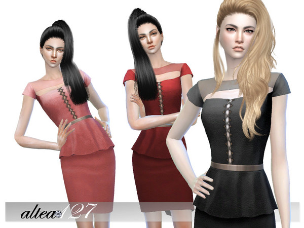 Jane Dress by altea127 at TSR image 255 Sims 4 Updates