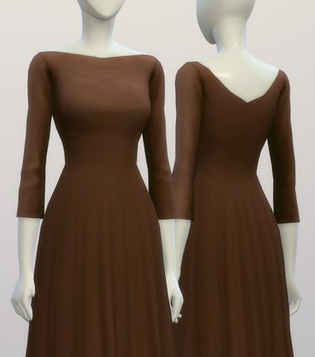 Sims 4 Niks dress at Rusty Nail
