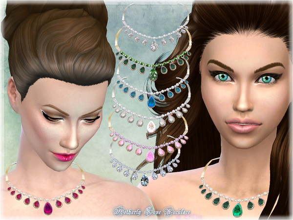 Motherly Love Necklace by alin2 at TSR image 264 Sims 4 Updates