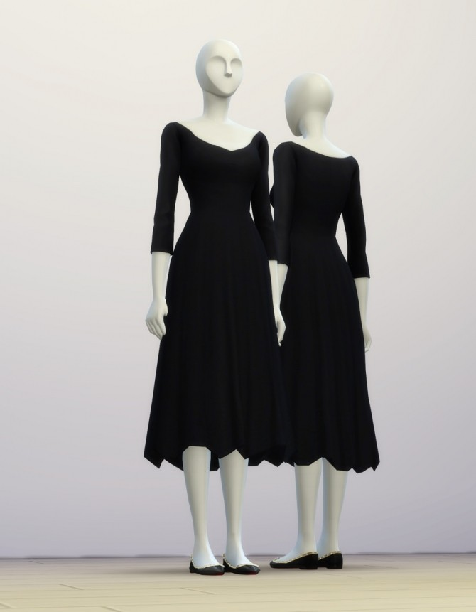 Sims 4 Audreys dress at Rusty Nail