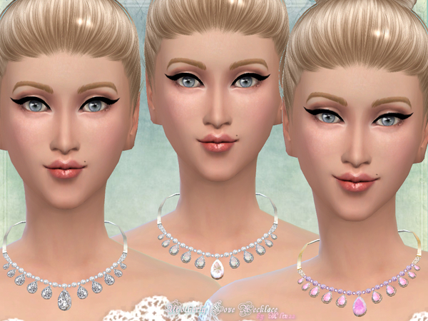 Sims 4 Motherly Love Necklace by alin2 at TSR