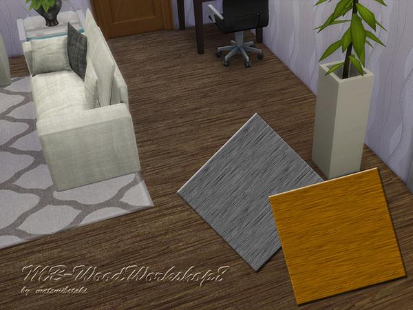 Sims 4 Wood Workshop 8 floor by matomibotaki at TSR