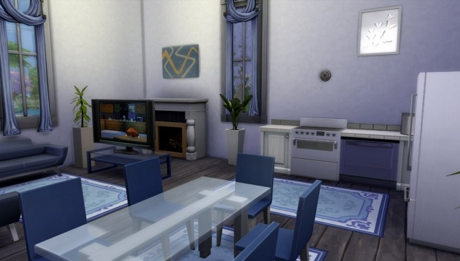 Little Amsterdam NoCC 6 Row House by una at Mod The Sims image 3016 670x381 Sims 4 Updates