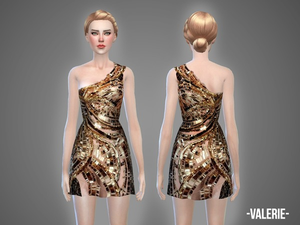 Valerie dress by April at TSR image 3026 Sims 4 Updates