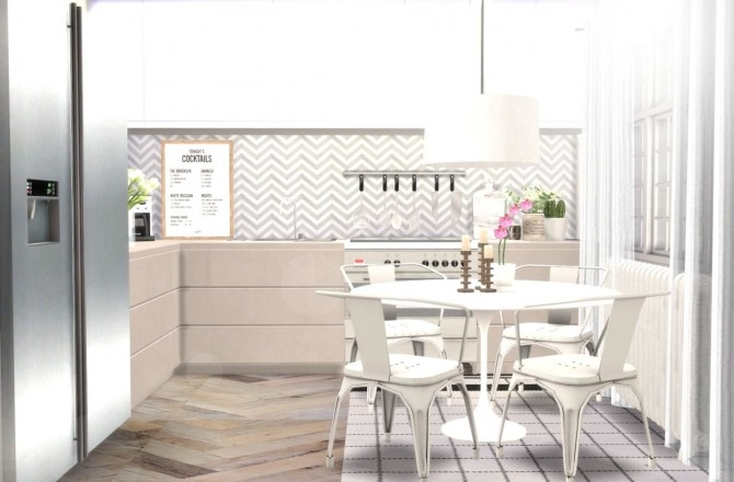 Kitchen counters & cabinets at Hvikis image 305 670x440 Sims 4 Updates