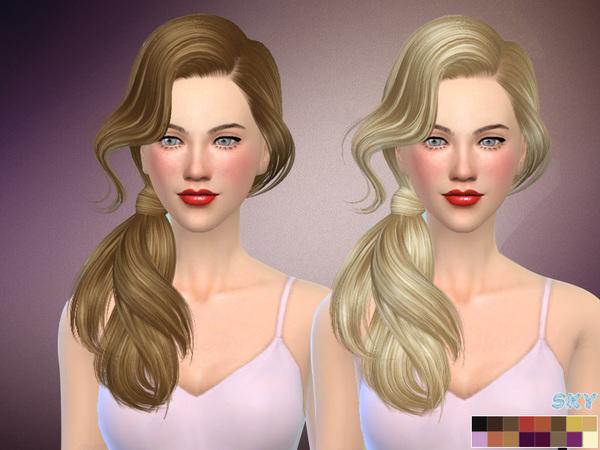 Sims 4 Hair 277 Bess by Skysims at TSR