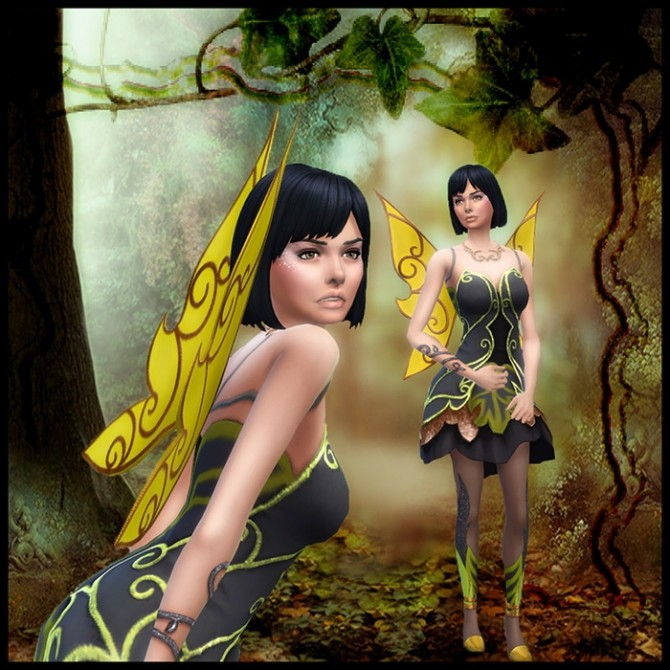 La Fée Gnante (The Lazy fairy) by Mich Utopia at Sims 4 Passions image 3108 670x670 Sims 4 Updates