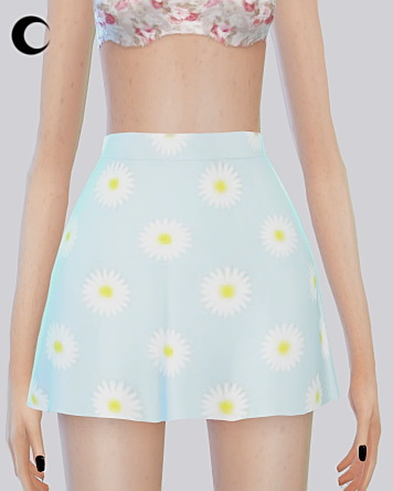 Sims 4 Patterned Skirt at Kalewa a