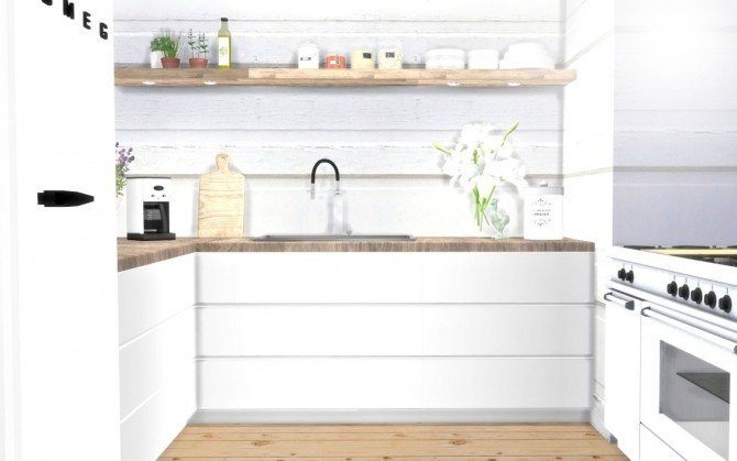 Kitchen counters & cabinets at Hvikis image 319 670x419 Sims 4 Updates