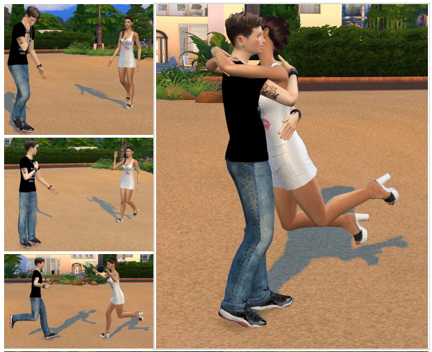 Together again Posepack at Chaleara´s Sims 4 Poses image 3229 Sims 4 Updates