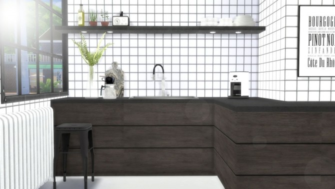 Sims 4 Kitchen counters & cabinets at Hvikis
