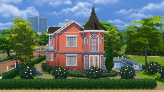 Sims 4 Rosebacken villa at DeSims4