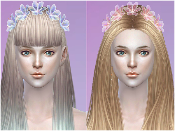 Wreath headdress 01 by S Club LL at TSR image 380 Sims 4 Updates