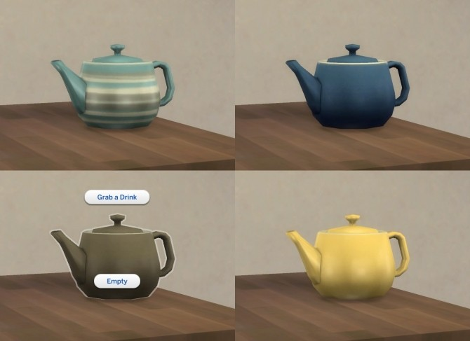Functional Tea Pot by plasticbox at Mod The Sims image 3816 670x487 Sims 4 Updates